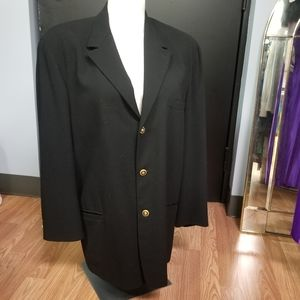 Versace Classic V2 black suit jacket size 54
